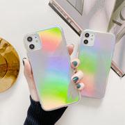 Coque d'iPhone holographique plastique
