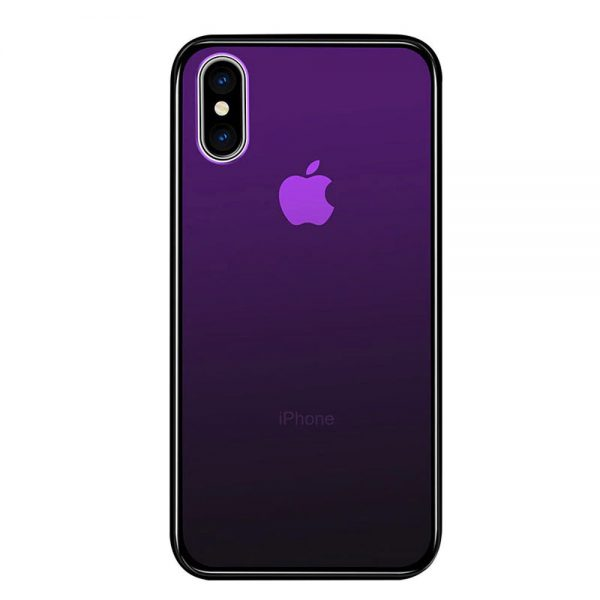 Coque d'iphone couleurs dégradé