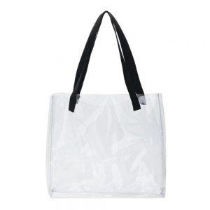 sac transparent tote bag